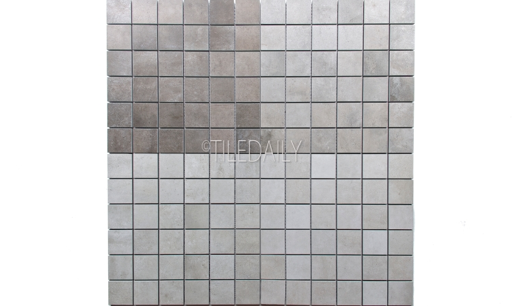 P0059-MOS - 2x2 Cement Porcelain Square Mosaic, 4 Colors