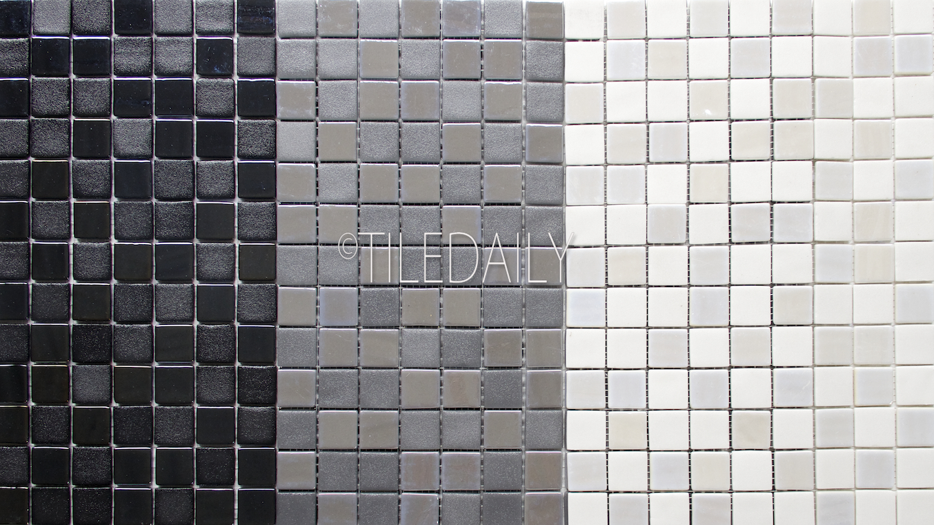 1 White Matte Hexagon Floor Tiles Vermeere Ceramic Mosaic
