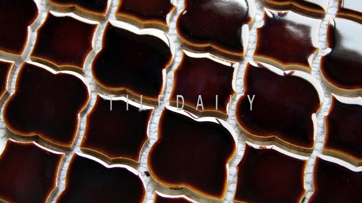 Arabesque Mixed Mosaic Tile Tiledaily