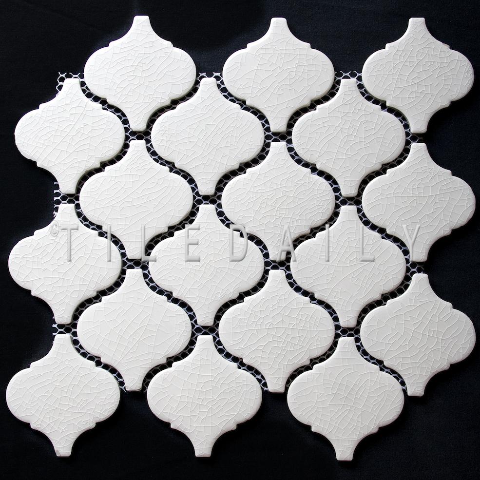 PM0075 - Crackle Lantern Porcelain Mosaic