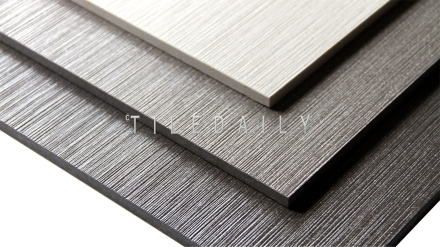 P0088 - Groove Porcelain Tile, 3 Colors White, Grey and Dark Grey