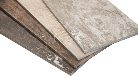 Barn Wood Porcelain Tile, 4 Colors