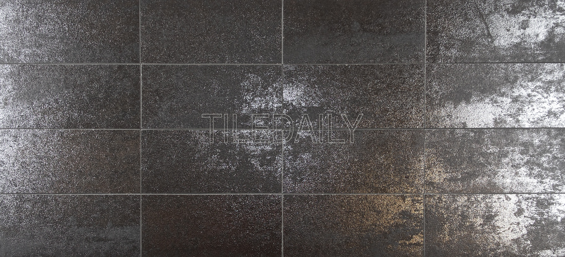 3 215 6 Rustic Iron Metallic Subway Porcelain Tile Tiledaily