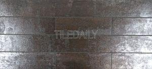 Metallic Iron Porcelain Subway Tile