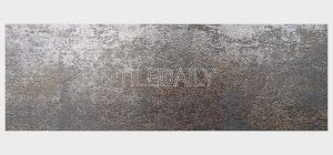 Metallic Iron Porcelain Subway Tile