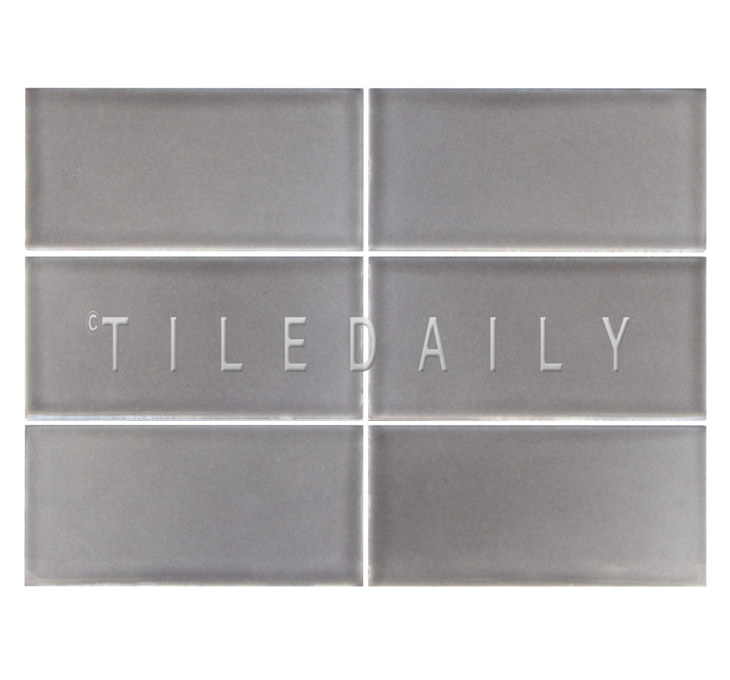 3x6 Cottage Series Ceramic Subway, Taupe. Available at TileDaily