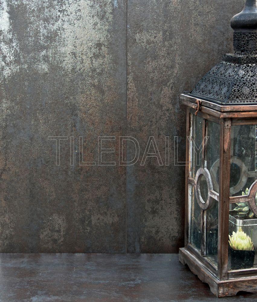 12x24 Metallic Iron Porcelain Tile at TileDaily