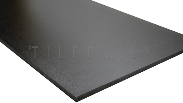 Matte Black Porcelain Tile