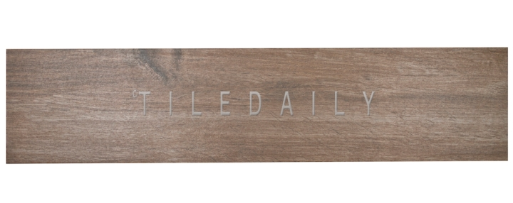 PW0026DBN - 8x32 Country Wood Porcelain Tile, Dark Brown