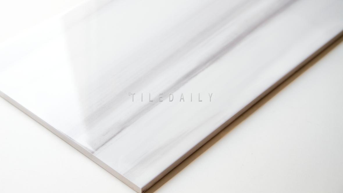 10x16 Ariston White Wall Ceramic Tile at TileDaily