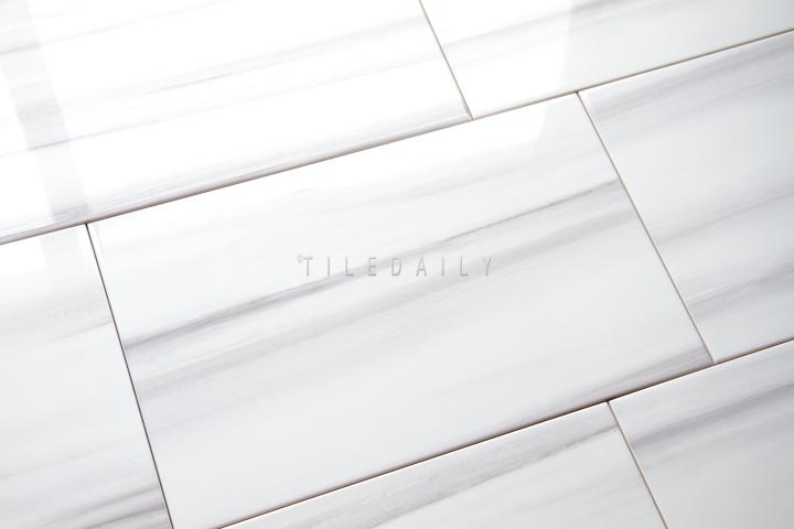 10x16 Ariston WhiteWall Ceramic Tile at TileDaily