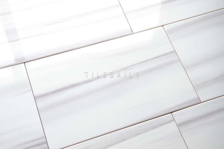 10x16 Ariston WhiteWall Ceramic Tile at TileDaily