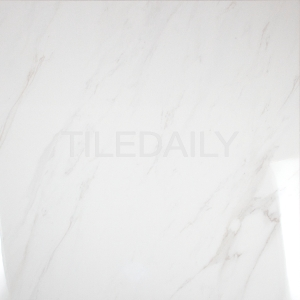 White Carrara Porcelain Tile in 24x24 size