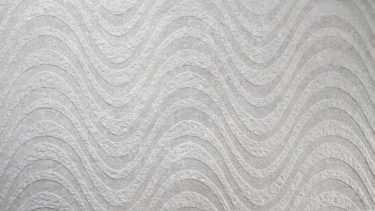 Greystone Porcelain Tile, Wave, Light Grey