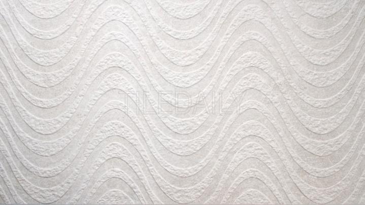 Greystone Porcelain Tile, Wave, Light Grey, or white