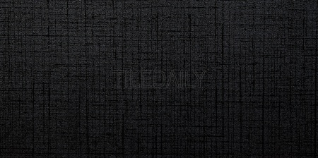 Linen Gloss Porcelain Tile in Super Black Available at TileDaily
