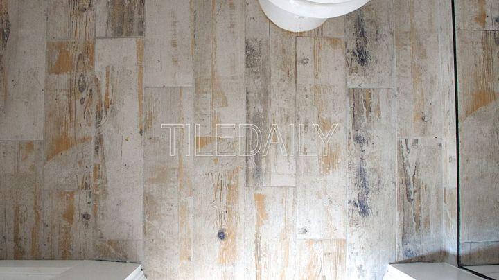 6x24 Rustic Wood Porcelain Tile, Light Beige