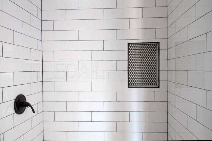 4x16 White Subway Tile