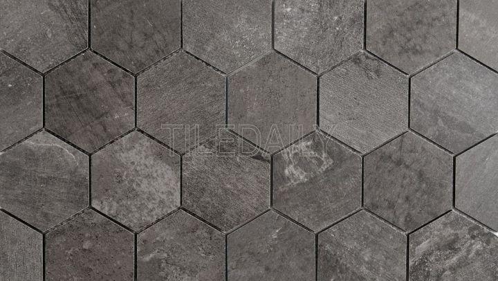 Cement Hexagon PorcelainMosaic