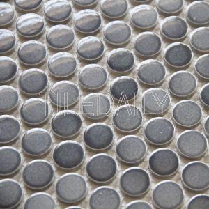 Gradient Mix Grey Porcelain Mosaic Tile