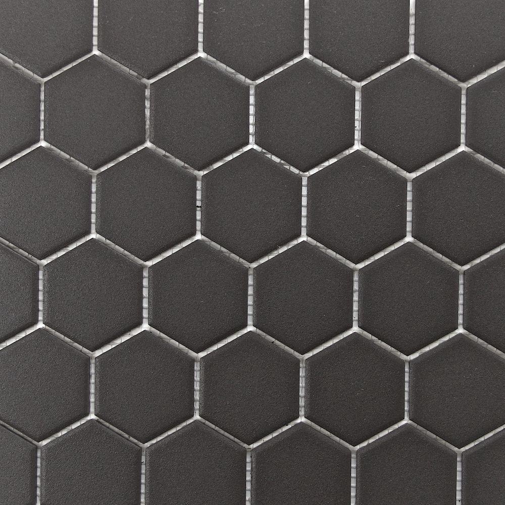 Retro Unglazed Hexagon Mosaic Tiledaily