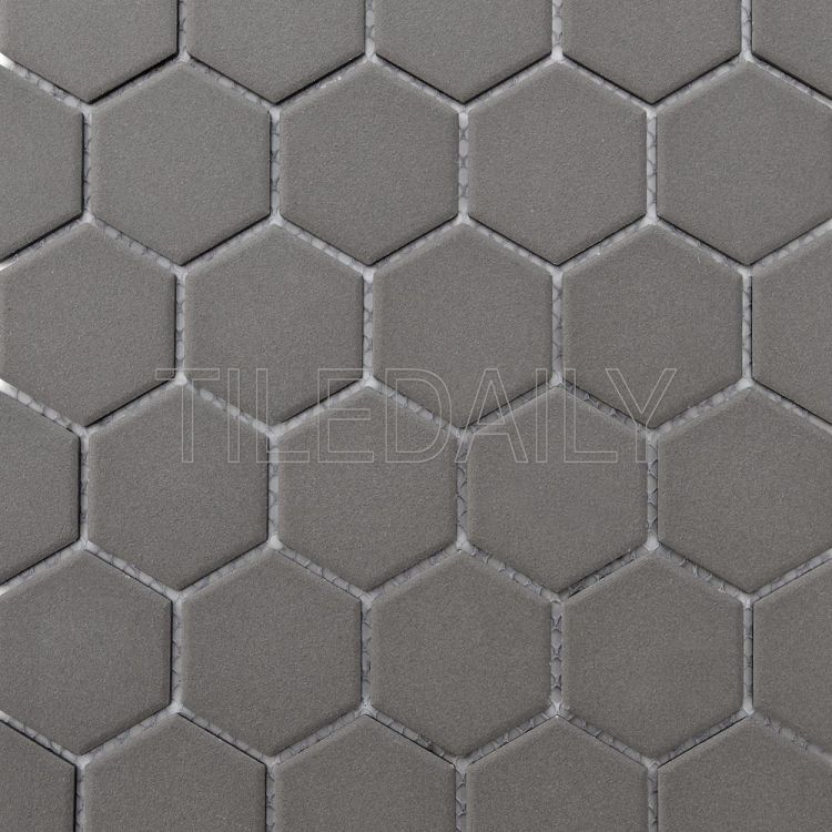 PM0090 Retro Hexagon Mosaic, Grey