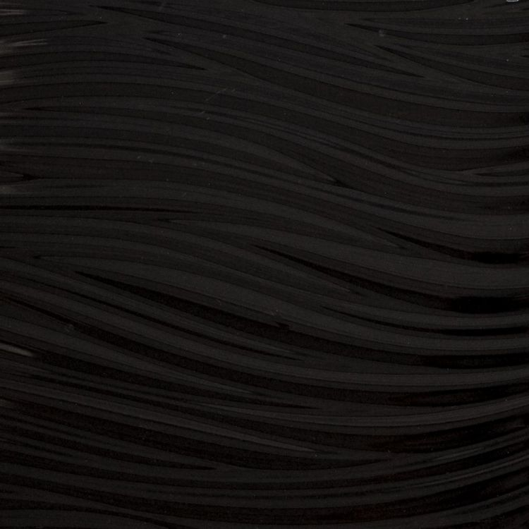 3D glossy black wave ceramic wall tile