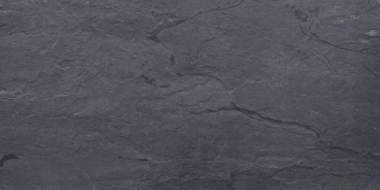 Sahara Slate Dark Grey Porcelain Tile, TileDaily