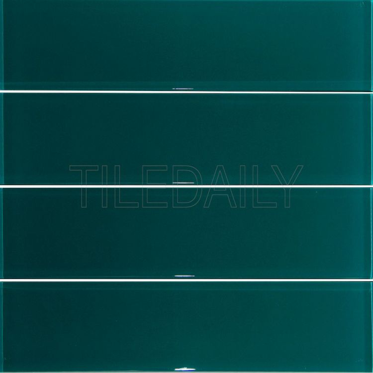 dark green subway glass subway wall glass brick tile