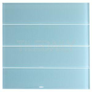 Aqua Blue Glass Subway Wall Tile Kitchen Backsplash Shower Wall