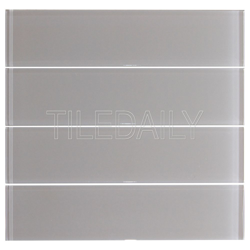 - Light Grey Glass Subway Tile – Tiledaily