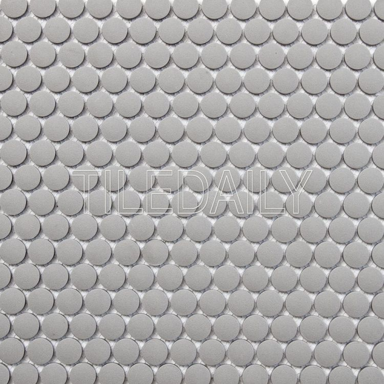 PM0092 Retro Penny Round, Grey