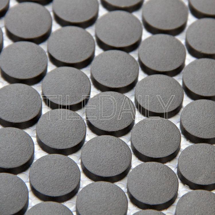 PM0092 Retro Penny Round Mosaic, TileDaily