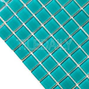 Swimming Pool Glass Mosaic Tile Turquoise Green Lagoon Teal Green