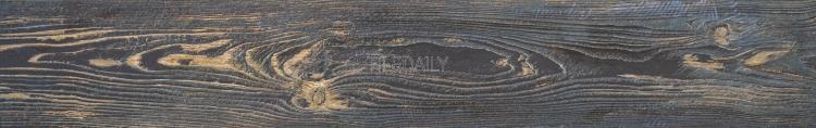 bluish black old wood look porcelain floor tile